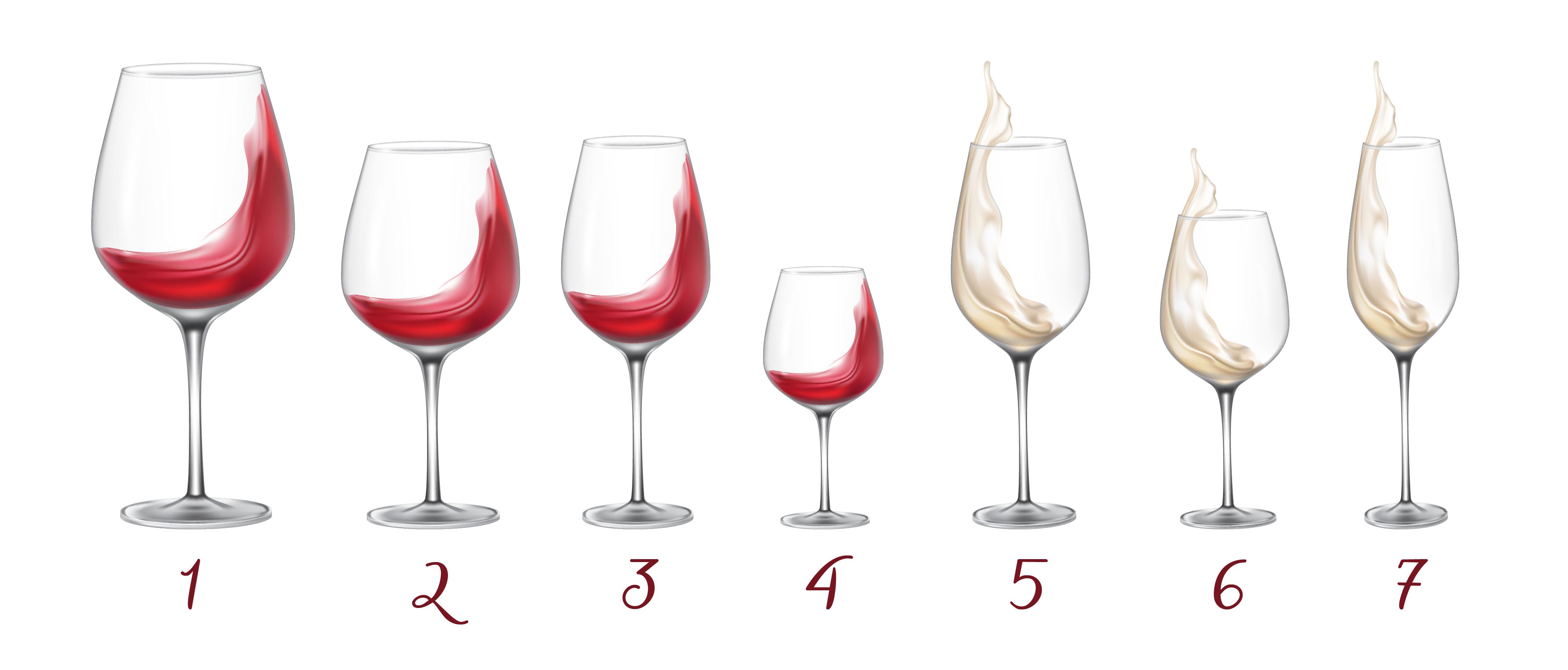 fbc598e3b20 ... glasset ofte kun til det bredeste punkt på bowlen - når man gør dette,  kan vinens aroma få lov til at folde sig ud, og du får mere ud af din vin.