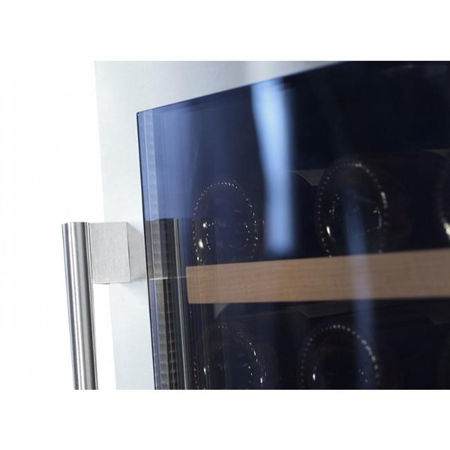 Smart smalt vinskab til indbygning under bordplade til 28 flasker flasker - Energiklasse A og ...