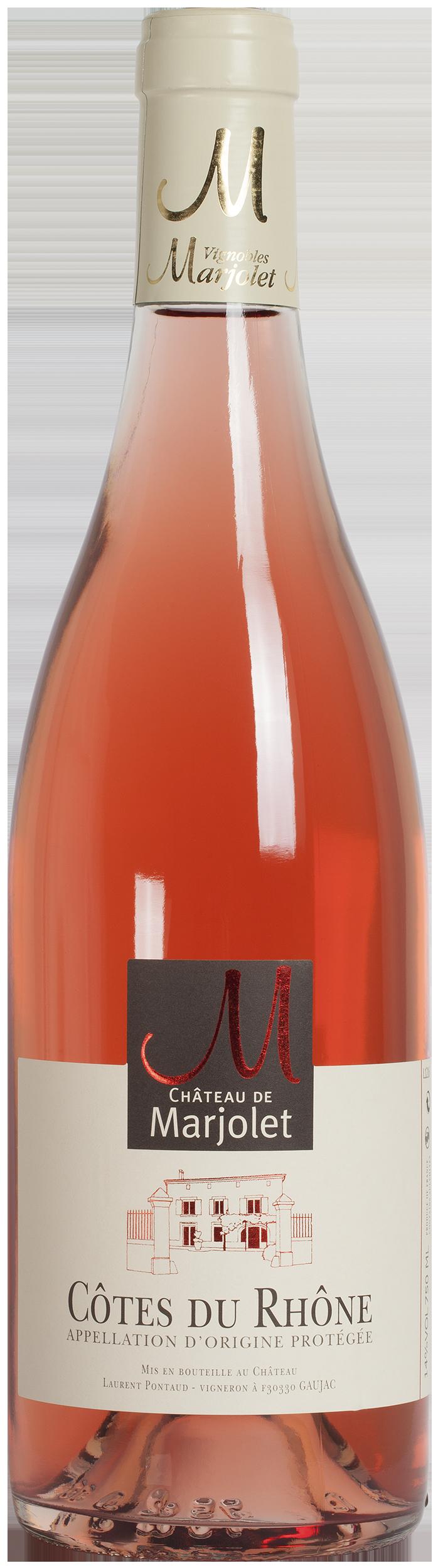 Château Marjolet Rosé 2020, Côtes du Rhone