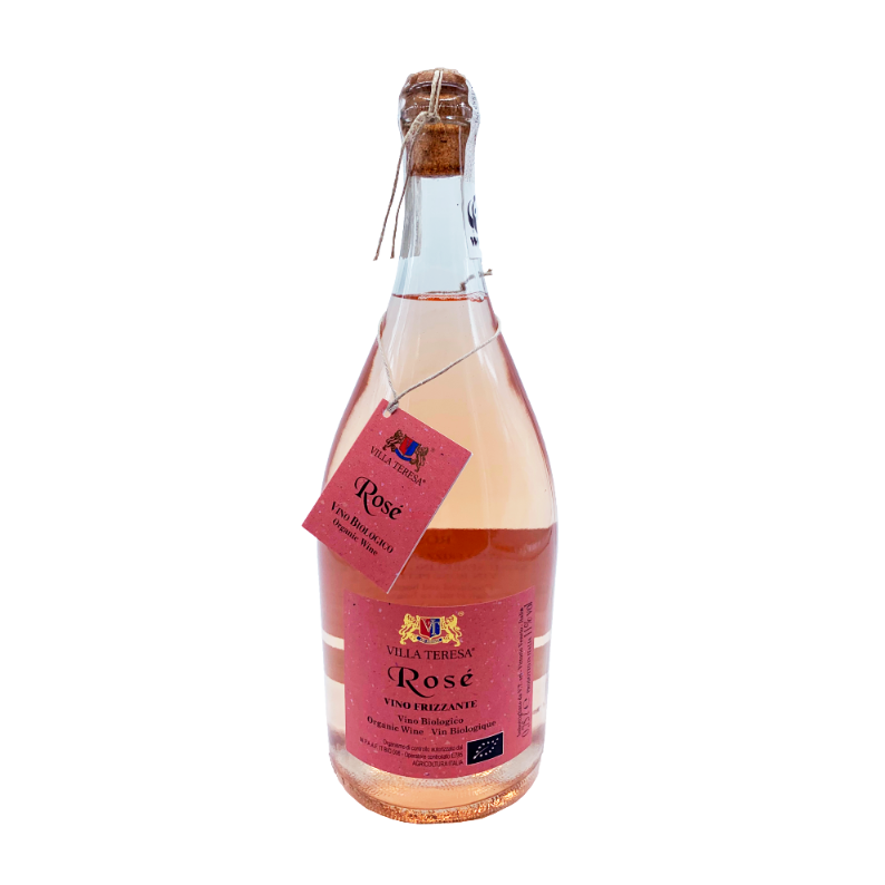 TONON, VILLA TERESA Rosé Frizzante - Corda Il Vino Biologico, Ã?KO